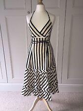 Sport Max Mara Summer Stripe, Halter Neck Dress Size Fr36
