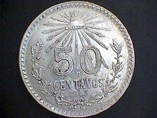 50 Centavos 1945 Mexiko  *** TOP ***