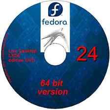 Fedora 25 Desktop Lxde 64 bit Linux on DVD + software