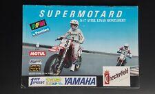Supermotard de Paris 1988, Programme Linas Montlhery Trophée Superstar JAPAUTO