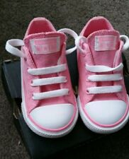 BNIB Girl's Pink Sparkle Converse Infant Size 6