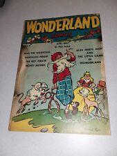 Wonderland Comics #4 Golden Age 1947 Prize/feature Comics Howard Howie Post Art