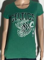 Boston Celtics NBA Basketball Team Adidas Size Small S Green Cap Sleeve T-shirt