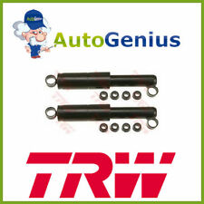 Pair Rear Shock Absorbers FIAT PANDA (141A) ALL EXCLUDED 4X4 TRW JHT180T