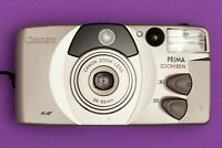 Canon Prima Zoom 85N Point & Shoot AF camera 1990s EXC Working