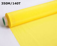 3 Yards 350M Screen Printing Mesh Yellow Screen Fabric DIY Fame Material 140T