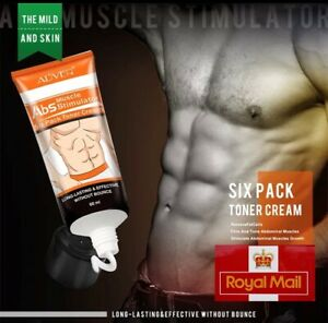 Slimming Six Pack Abdominal Cream Fat Fast Burning Muscle Weight Loss Flat Belly