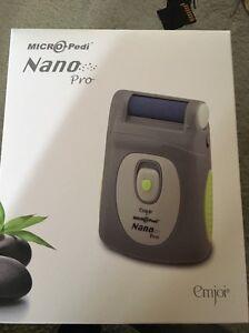 Emjoi Micro Pedi Nano Pro New! Gray