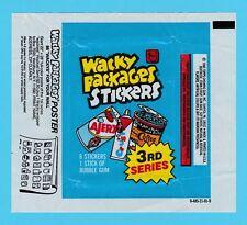 BUBBLE  GUM  WRAPPER  -  TOPPS  U.S.A.  -  WACKY  PACKAGES   ( B )  -  1980