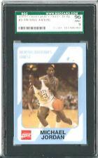 1989 North Carolina #17 MICHAEL JORDAN SGC 96 MINT 9 *Collegiate Collection*