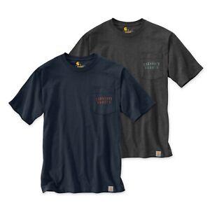 Carhartt Workwear Back Graphic T-Shirt   Brusttasche   Rugged   Limited Edition