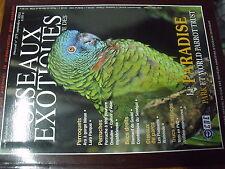 ?µ Revue des Oiseaux Exotiques n°279 ARA gorge bleue Loro Parque Diamand Gould