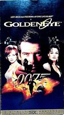 James Bond GOLDENEYE Pierce Brosnan Sean Bean Famke Janssen (1996, MGM/UA) VHS