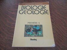 biologie geologie premiere S