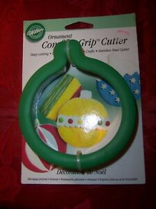 Wilton Comfort Grip Cookie Cutter Ornament NOC HTF Rare
