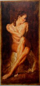 "TOMASZ RUT GICLEE ON CANVAS MAESTA SIGNED AP #3/10 W/COA 15"" X 31"" ARTIST PROOF!"