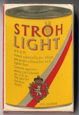 Stroh's or Stroh Light Beer Bridge Playing Cards - Vintage