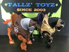 *Vintage*MOTU*He-Man Horses*STRIDOR & NIGHT STALKER*Mattel*1983*Original Owner*