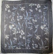 - Superbe grand Foulard  GERARD DAREL  100% soie mousseline TBEG  vintage scarf