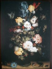 POSTCARD ROELANT SAVERY 1576-1639  - BOUQUET OF FLOWERS