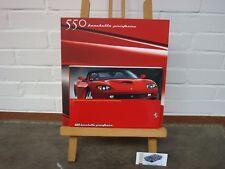 Ferrari 550 Barchetta owners/manual