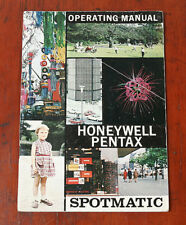 ASAHI PENTAX SPOTMATIC INSTRUCTION BOOK/126162