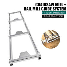 6 X 3ft Rail Mill Guide Systemchainsaw Rail Mill Guide System Saw Mill Ladder