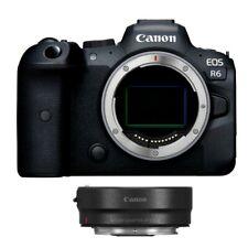 Canon EOS R6 20,1MP Fotocamera Lenti intercambiabili - Nera (Solo Corpo)