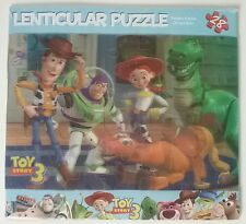 "Toy Story 3 Disney NEW Sealed 28 Piece Lenticular Puzzle 6"" by 9"" Rex Buzz Woody"