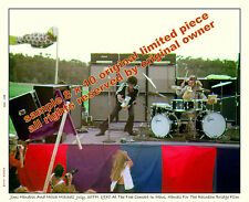JIMI HENDRIX PHOTO     SET OF 2 MAUI HAWAII 1970  8 X 10 COLOR MUST SEE + GIFTS