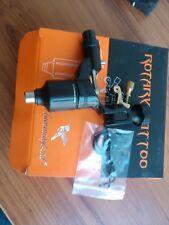 Black 100% Hummingbird Rotary Tattoo Machine Gun Swiss Power Motor SR2 w/Box