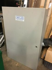 """Electrical Control Cabinet 36"""" x 24"""" x 9"""""""