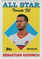 2018 Topps MLS Soccer All-Star Insert #AS-SG Sebastian Giovinco