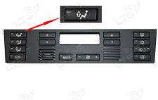 BMW E53 E39 M5 X5 Replacement Climate A/C Control Panel Air Vent Up Button NEW