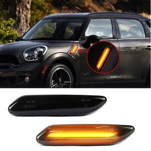 For BMW MINI COOPER Paceman R61 R60 Blinker LED Side Marker Turn Signal Light 2x