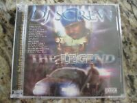 "DJ SCREW ""The Legend"" Double CD Screwed Up Click Sealed NEW Houston Texas"
