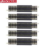 Fleischmann N 9110-S Gerades Ausgleichsstück, 83 - 111 mm (5 Stück) - NEU + OVP