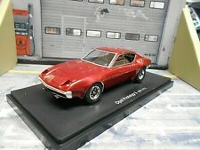 OPEL Prototyp 3 Coupe Manta GT Studie red rot Studie 1972 Autocult 1:43