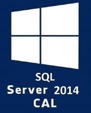 MICROSOFT SQL SERVER 2014 USER CAL | LICENZA VOLUME | FATTURA
