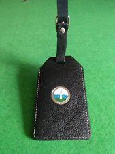 Balcarrick golf club leather bag Tag with leather strap windowed id  souvenir