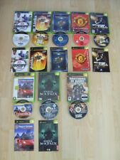 ORIGINAL XBOX GAMES LOT - Splintercell , Gotham Racing 2 , Rugby 05 , Brothers
