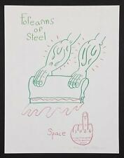 """Andrew Jeffrey Wright - L/E Litho """"Forearms of Steel""""  Hand-signed/numbered"""