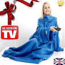 Snug Blanket ADULT Sleeved Arms Blanket Fleece LUXURY BLANKET Warm Winter