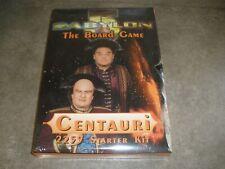 New Sealed Babylon 5 The Board Game Centauri 2259 Starter Kit