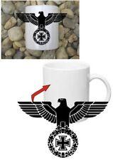 aquila imperiale con EK caffè SERBATOIO TAZZA WH SECONDA GUERRA MONDIALE WK2