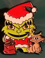 Amazon Peccy Grinch Max Christmas Holiday Enamel Pin