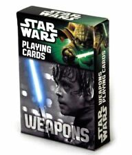 Star Wars Juego de Carta Weapon Colección Playing Cards Cartamundi