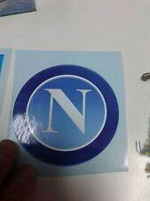 1 adesivo grande napoli stemma diametro 8 cm stikers soccer