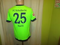 "FC Schalke 04 umbro Ausweich Trikot 2018/19 ""GAZPROM"" + Nr.25 Harit Gr.164 TOP"