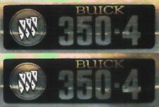 Buick 1968-74 350-4V Valve Cover Decal Set
